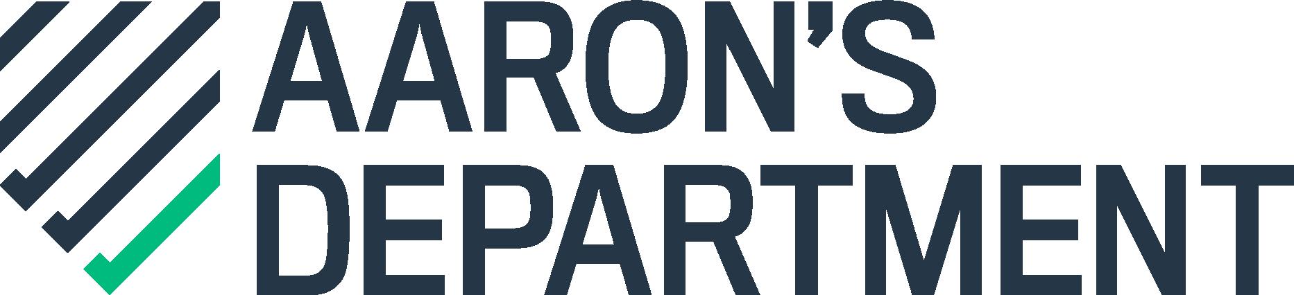 Aaron's Department logo