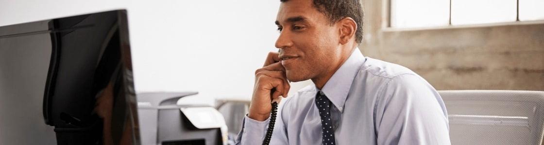 phone call evaluation