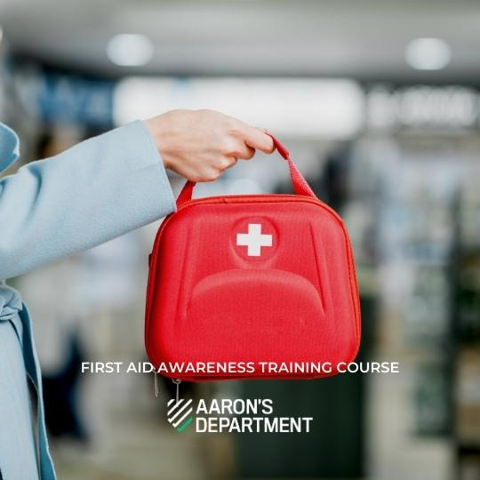 First aid awareness training course