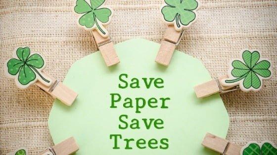 Online DBS's help save trees!