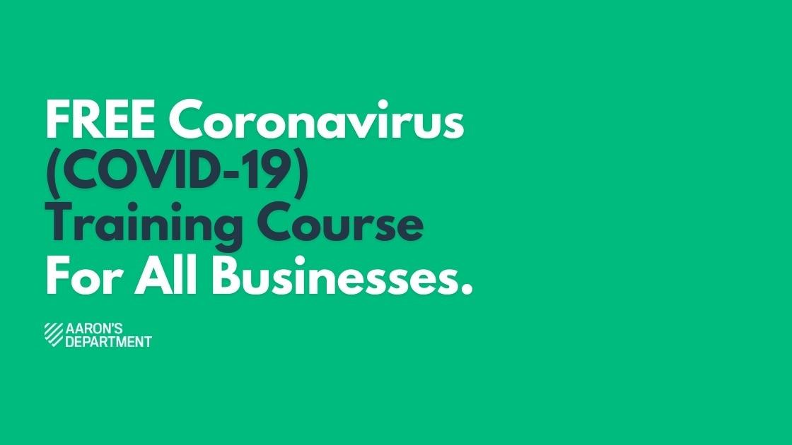 free coronavirus training