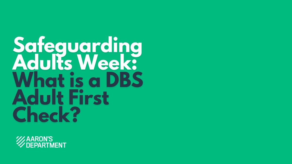 What is a dbs adult first?