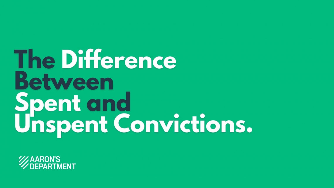 What's the Difference Between a Spent and Unspent Conviction?