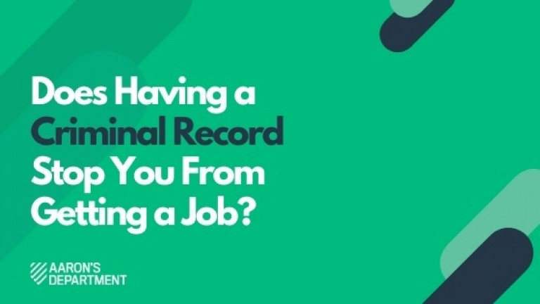 Does Having a Criminal Record Stop You From Getting a Job?