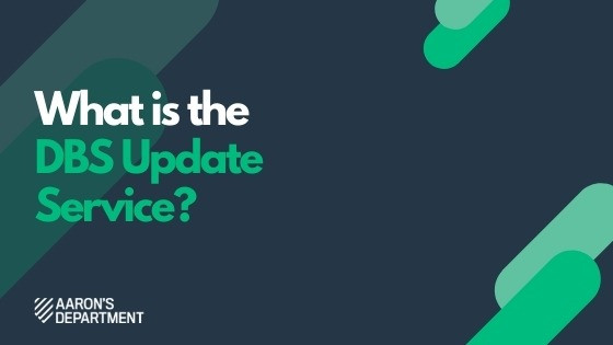 What is the DBS Update Service?