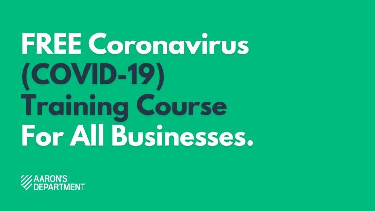 coronavirus training course